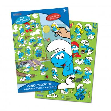 The Smurfs Magic Sticker Set