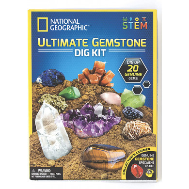 National Geographic Ultimate Gemstone Dig Kit