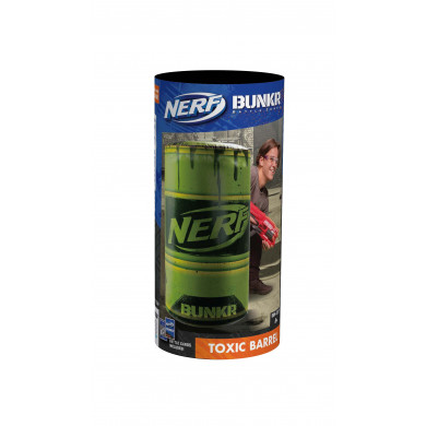 Nerf Bunkr Take Cover Toxic Barrel