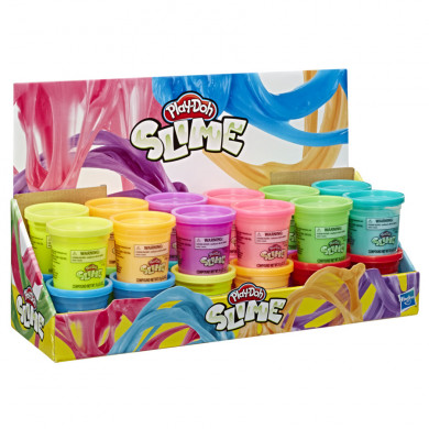 Play-Doh Slime Single Can CDU 12pcs