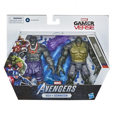 Hasbro Marvel Gamerverse 6-inch Collectible Hulk vs. Abomination