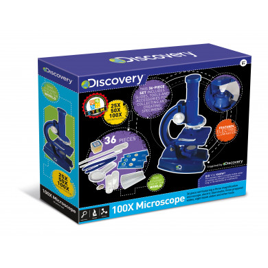 Discovery 100X Microscope (36pc)