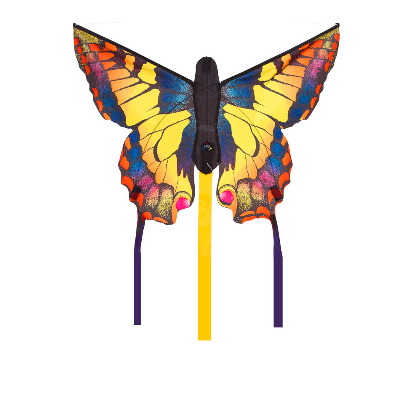 Butterfly kite swallowtail r kites wind designs for Indoor kite design