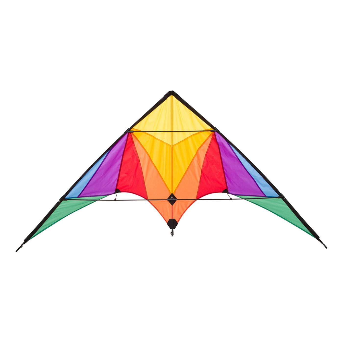 Stunt Kite Trigger Rainbow Stunt Kites Wind Designs