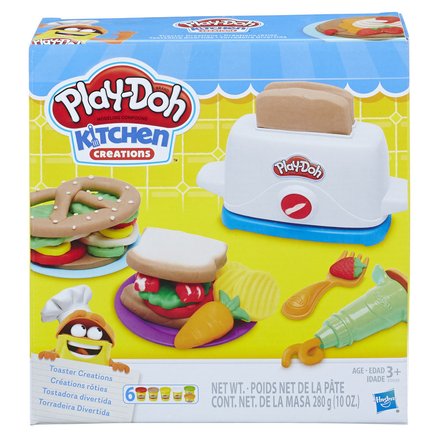 Play Doh Kitchen Creations Toaster Creations Wind Designs