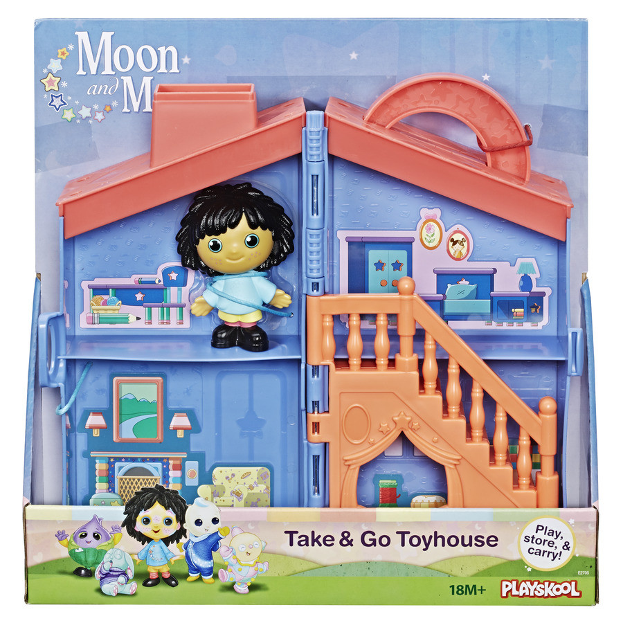 Moon /& Me Playskool Moon and Me Friends Pack of 5 Figures
