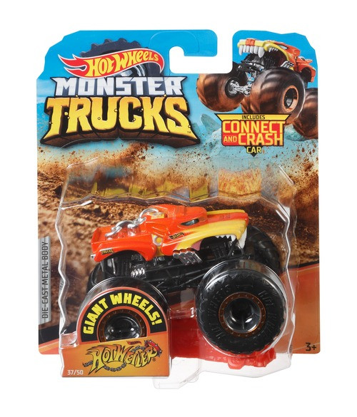 Hot Wheels Monster Trucks 1 64 Assortment Wind Designs