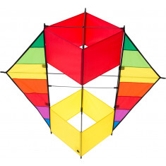 F-Box Beach Rainbow Kite
