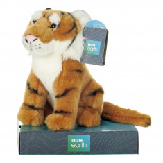 BBC Planet Earth Tiger with Display Plinth - 25cm