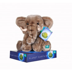 BBC Planet Earth Elephant with Display Plinth - 25cm