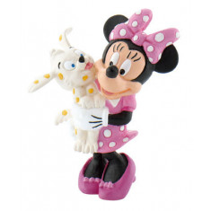 Bullyland Minnie with Puppy