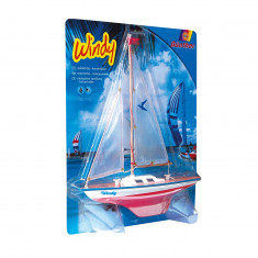 Windy Sail Boat
