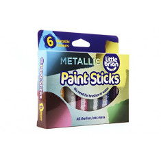 Paint Sticks Metallic Colours - 6 assorted