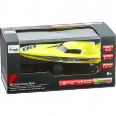 "RC Mini Power Boat ""Yellow"" - 2.4 Ghz"