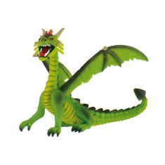 Bullyland Dragon Sitting Green Figure