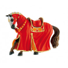 Bullyland Tournament Horse Red