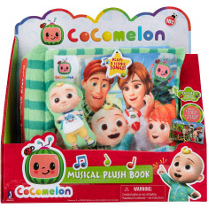 Cocomelon Musical Plush Book Nursery Rhyme Singing Time