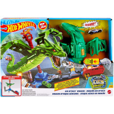 Hot Wheels Air Attack Dragon Play Set
