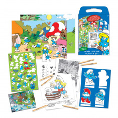 The Smurfs Magic Stickers Activity Set