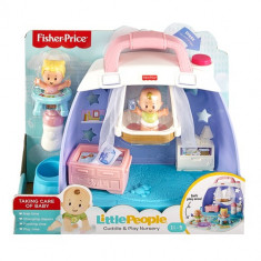 Little People Babies Cuddlen Play Nursery Playsets