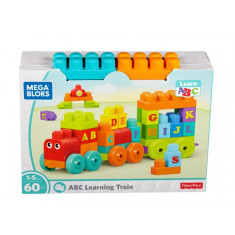 Mega Bloks ABC Learning Train 50 Pieces