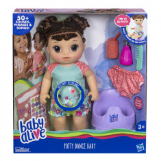 Baby Alive Potty Dance Baby (Brown Curly Hair)
