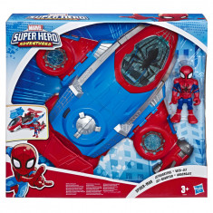 Marvel Super Hero Adventures Spider Man Jetquarters
