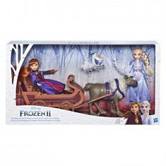 Disney Frozen II Sledding Sven & Sisters