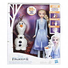 Disney Frozen II Talk and Glow Olaf and Elsa