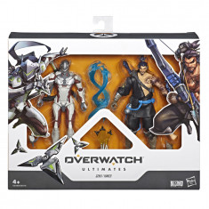 Overwatch Ultimates Series Hanzo and Genji Dual Pack 6-Inch-Scale Collectible Action Figures with Accessories
