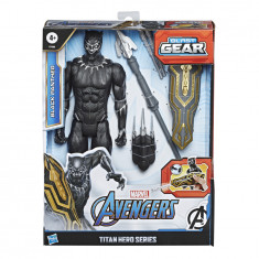 Avengers Titan Hero Series Blast Gear Deluxe Black Panther