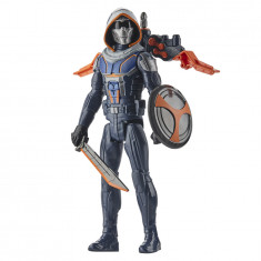 Marvel Black Widow Titan Hero Series Blast Gear Taskmaster 12-Inch Action Figure