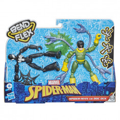 Spider-Man Bend and Flex Black Suit Spider-Man Vs. Doc Ock