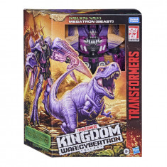 Transformers Generations War for Cybertron: Kingdom Leader WFC-K10 Megatron (Beast)