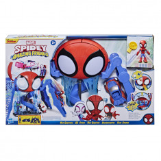 Spidey and His Amazing Friends Web-Quarters Playset