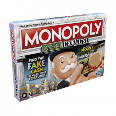 Monopoly Cash Decoder Board Game