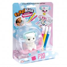 Fuzzikins Fuzzi Skaters Pig