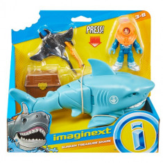 Imaginext Sharks & Vehicle Assorted
