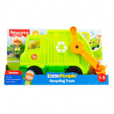 Fisher-Price Little People Large Recycling Truck Vehicle