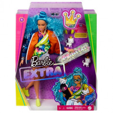 Barbie Extra Doll with Skateboard and Kittens