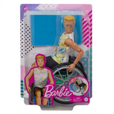 Barbie Doll Ken Fashionista Wheelchair