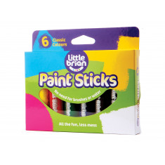 Paint Sticks Classic Colours - 6 assorted
