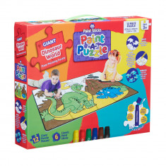Dinosaur World Paint Sticks Paint-A-Puzzle