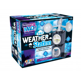 Science Mad 5-in-1 Weather Station Product Image